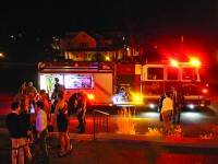 Fire Alarm Interrupts Holiday Ball