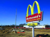 Owners hope to open a new McDonald's very soon.