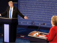 Sec. Hillary Clinton and Mr. Donald Trump square off at Hofstra University for the first general election debate in the 2016 presidential race.