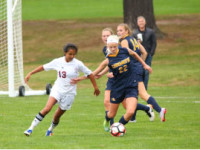 Erin Martin '20 scrambles for the ball in a recent game.
