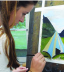 Behind The Easel with Sophie Ball '17