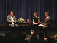 Pulitzer Prize-winning journalist Mr. Nicholas Kristof answers questions  from Amira Nazar '17 and Bryce Wachtell '17 ranging from politics to privilege.