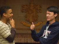 Mpilo Norris '18 and Julian Yau '18 enter Student Council with years of experience collaborating with each other.