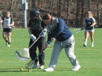 While she'd love to be playing, Ms. DeStefano says she enjoys coaching just as much.