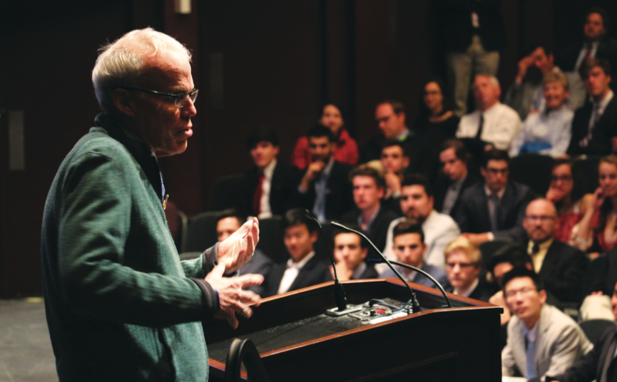Bill Mckibben Visits Choate