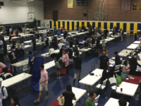 Students visited the booths of more than 150 schools at this year's Spring College Fair.