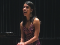 Dutchin's passion for singing and acting will continue at Northwestern.