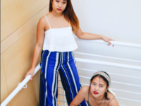 Ellie Kim '19 and Angie Zhao '19 run Fitting Room 208 on Instagram.