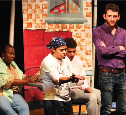 The Theater of the Oppressed hosted a workshop at Choate on Sunday, October 8.