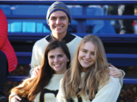 Students from the Class of 2017 wore their senior sweaters to last year's Deerfield Day.