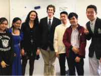 Choate students interact with students from schools in Vietnam, Japan, and the Philippines.