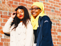 Krystal McCook '20 and Medina Purefoy-Craig '20, communications officer and junior editor, respectively, of Misstique, a magazine that allows women to share their views on feminism.