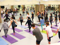 During Choate's second schoolwide Wellness Day, the community took part in a variety of activities, including yoga