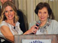 Ms. Ellen Kaidanow (left) with her mother-in-law, also named Ellen Kaidanow, a Holocaust survivor.