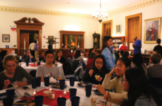 Students enjoyed Asian culture and food at the annual Lunar Banquet.