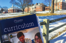 Choate's new curriculum includes a robotics signature program and an additional ten hours of community service.