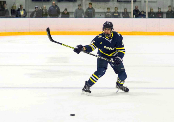 Boys' Varsity Hockey Falls to NMH on Senior Day