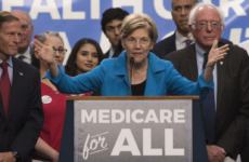 "Democratic Senator Elizabeth Warren insisted, ""We don't need to raise taxes on the middle class by one penny to finance Medicare for All."" Photo courtesy of Vox"