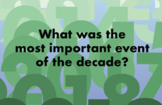 What Was the Most Important Event of the Decade?