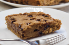 Plant-based blondies are a more sustainable option than traditional blondies. Photo courtesy of AdaptedEats
