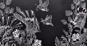 Sealife and the Supernatural: Senching Hsia '21 Shares Scratchboard Series